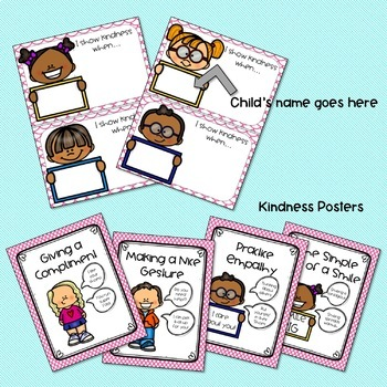 Kindness Bunting, Social Story, and Language Activities