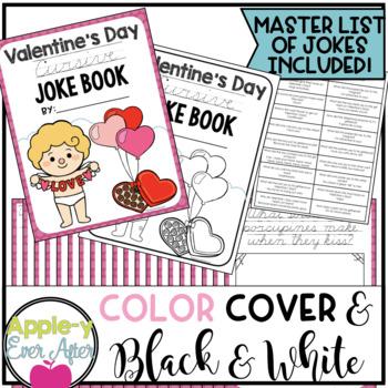 Valentine's Day CURSIVE Joke Book