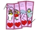 Valentine's Day CVC Activity - Penguin Theme - includes bonus bookmarks
