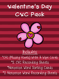 Valentine's Day CVC Pack