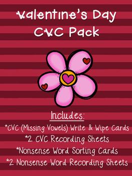 Valentine's Day CVC Pack