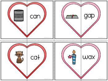 Valentine's Day CVC Practice