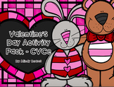 Valentine's Day CVCe Long Vowel Activity Pack