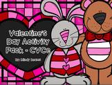 Valentine's Day CVCe Long Vowel Activity Pack