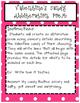 Valentine's Day Candy Alliteration Poem.