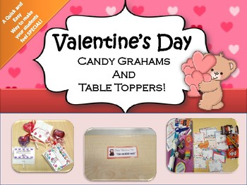 Valentine's Day Candy Grahams!