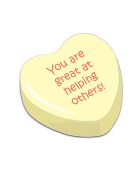 Valentine's Day Candy Heart Graphics