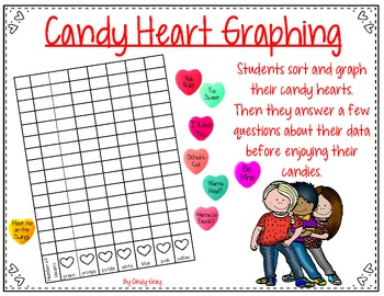 Valentine's Day ~ Candy Heart Graphing