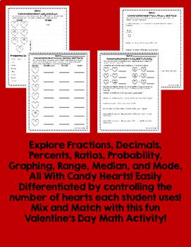 Valentine's Day Candy Heart Math