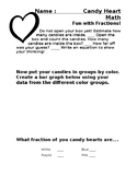Valentine's Day Candy Heart Math: Fun with Fractions
