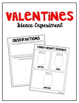 Valentine's Day / Candy Heart Science Experiment