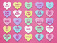 Valentine's Day Candy Heart ZONK! Interactive Powerpoint Review Game Board