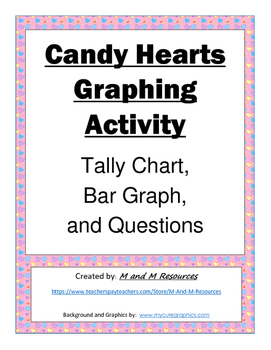 Valentine's Day Candy Hearts Graphing Activity