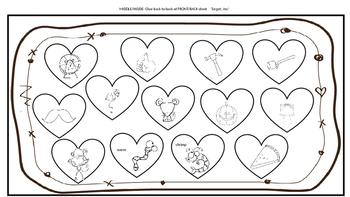 Valentine's Day CarD-ticulation: Create Your Own Articulation Valentine!