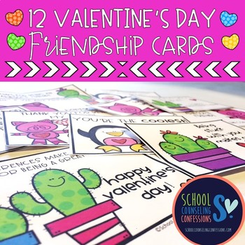 Valentine's Day Friendship Cards Activity