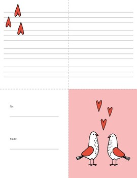 Valentine's Day Card Activity