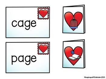 Valentine's Day Card CVCe Match