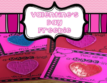Valentine's Day Card Freebie