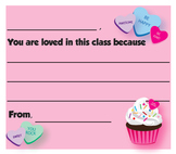 Valentine's Day Card / Note from the Teacher