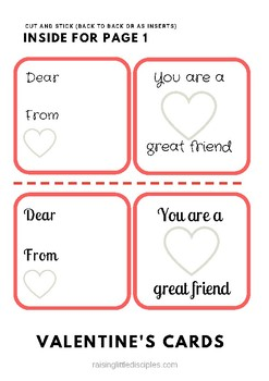 Valentine's Day Card Pack