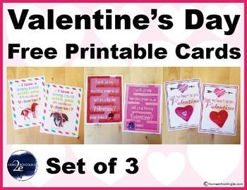 Valentine's Day Card Printable