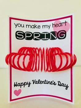 Valentine's Day Card (Slinky)