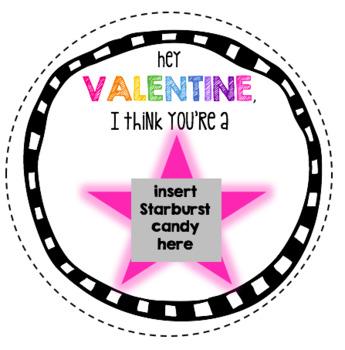 Valentine's Day Card (Starburst)