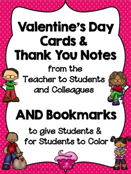 Valentine's Day Cards & Bookmarks