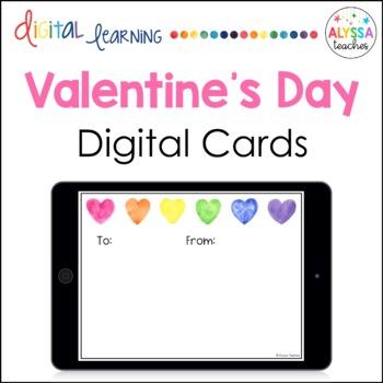 Valentine's Day Cards {Digital}