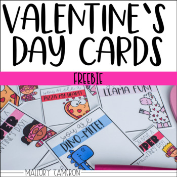 Valentine's Day Cards - Freebie