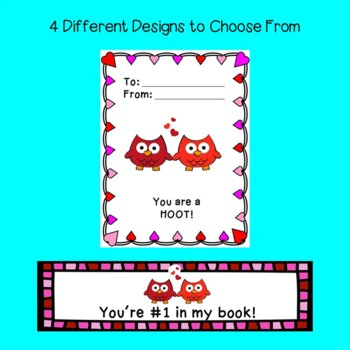 Valentine's Day Cards- Matching Bookmarks