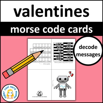 Valentine's Day Cards Morse Code