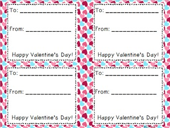 Valentine's Day Cards! Send your own unique valentines!