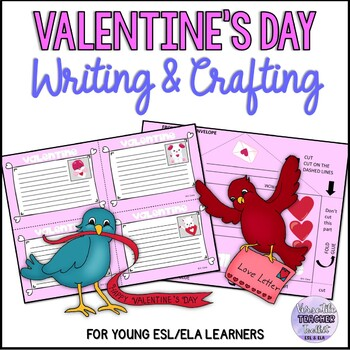 Valentine's Day Craftivity (Writing Activity)
