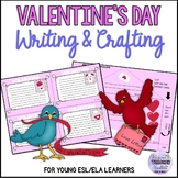 Valentine's Day Cards and Envelope (Writing Activity)
