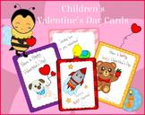 Valentine's Day Cards for Children Printables