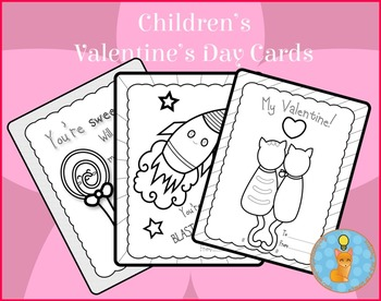 Valentine's Day Cards for Children Printables