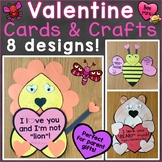 Valentine's Day Crafts, Cards for Parents from Students, V