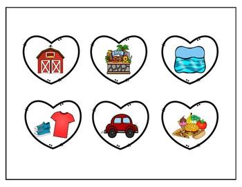Valentine's Day Categories