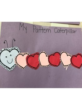Valentine's Day Caterpillars