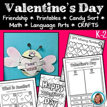 Valentine\'s Day Worksheets Activities & Crafts | TpT