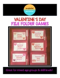 Valentine's Day Center Activity Bundle