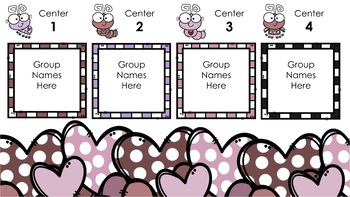 Valentine's Day Center Rotations Automatic PowerPoint