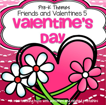 Valentine's Day Celebration Centers & Activities for Preschool and PreK