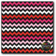 Valentine's Day Chevron on Black Digital Papers {Commercial Use Graphics}