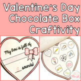 Valentine's Day Chocolate Box Craftivity