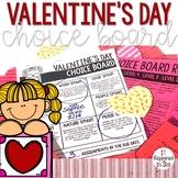 Valentine's Day Choice Board