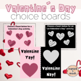 Valentine's Day Choice Boards for Fun with Google Slides