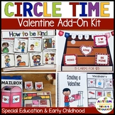 Valentine's Day Circle Time Activities for Preschool and S