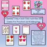 Valentine's Day Circle time Time Activities and Games For